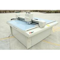 China Sample Corrugated Box Making Machine / Cardboard Plotter Cutter Customized Size on sale