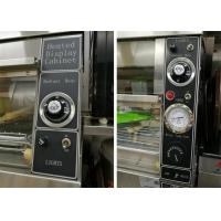 Quality 380V/4.2KW Food Warmer Showcase Individual Thermostatic Control 1520x750x840mm for sale