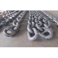 High Strength Steel Mooring Anchor Chain 76mm-185mm Dia For Oil Platform Manufactures