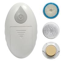 Handheld Electric Skin Cleansing Brush With 3 Heads For Deep Clean Manufactures