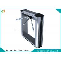 Physical Trident Waist Height Turnstiles Park Enterprise IR Sensor  Barrier Manufactures
