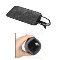 Buy cheap Dark Grey Ladies Soft Sunglass Case With A Plush Styrene Interior from wholesalers