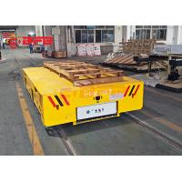 China customized yellow motorized cart moving on rails,BEFANBY electric battery powered industry vehicles Manufactures