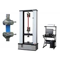 Double Columns Rubber Mateial Universal Tensile Testing Machine With Precise Load Cell Manufactures