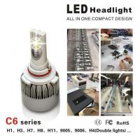 CE / RoHS Approved Luxeon MZ Car LED Headlight Bulbs 3000LM 3000K - 6000K Manufactures