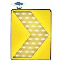 Super Bright LED Solar Traffic Signs Chevron Light With 3M HI Reflective Film Manufactures