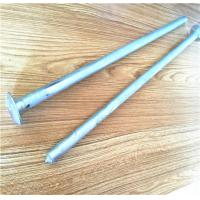 Zinc Plated Grounding And Earthing Products Camping Steel Mushroom Head Tent Stake Manufactures