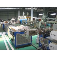 Twin Screw Plastic Extruder Machine For Window And Door Profile With PLC Control System Manufactures