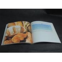 Eco-friendly Bright coloured Cookbook Printing services , Recipe Book Printing Manufactures
