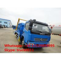 Dongfeng 4x2 6cbm hydraulic arm roll garbage truck for sale Manufactures