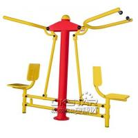 China good quality cheap galvanized outdoor fitness trainer with TUV certificates EN16630 pull down chair Manufactures