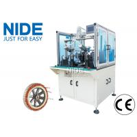 Electric Bike Wheel Motor Winding Machine , Automatic Coiling Machine High Efficiency Manufactures