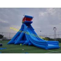 Quality Giant inflatable dinosaur slip and slide for sale