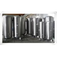 Stainless Steel Air Compressor Receiver Tank 60 Gallon / 80 Gallon / 100 Gallon Manufactures