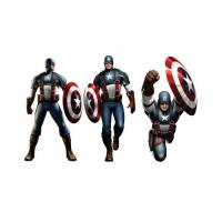 China Captain American 3D Lenticular Poster Printing / Custom Lenticular Posters on sale