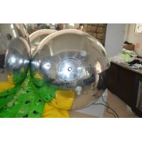 OEM Clear Inflatable Mirror Ball / Balloons Ornaments For Decoration Manufactures