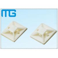 white nylon  cable zip ties mounts ,wall holder mount for wire fixing Cable Accessories Manufactures