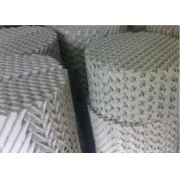 Customzied Ceramic Structured Packings , High Capacity Distillation Column Internals Manufactures