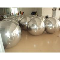 Different  Colour PVC Inflatable Mirror Ball For Advertising / Outdoor  Decoration Inflatable Ball Manufactures