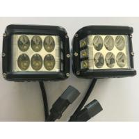 "45W 4.5"" Square Automotive Led Driving Lights , 6500k Offroad Truck Work Lights 3800 Lumen Manufactures"