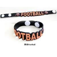 Printed color silicone bracelets wristband for children Manufactures