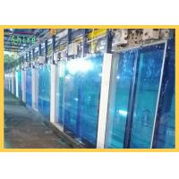 Blue PE Protective Film For Window Glass Temporary Glass Protection Film Manufactures