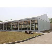 Clear span Structure Luxury Wedding Tents 20 x 25m Wind Resistant with Glass Wall Manufactures