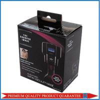 hanging tab shiny glossy corrugated packaging box self lock bottom style Manufactures