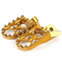 Quality CNC Milled Dirt Bike Foot Pegs With Removable And Replaceable Teeth for sale