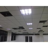 Non Combustible Fibre Cement Ceiling Boards Square / Tegular Edges 250N Manufactures