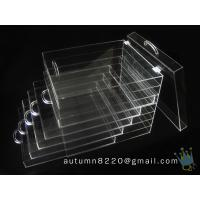 BO (114) clear acrylic jersey display case Manufactures
