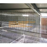 Buy cheap Poultry Farm Silver Hot-dip Galvanized Sheet Simple H Frame Battery Meat Chicken Cage & Broiler Coop Equipment from wholesalers