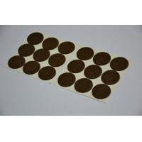 White Sticky Adhesive Hook And Loop Dots For Transparent Release Paper Manufactures