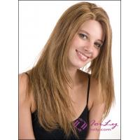 Golden Brown Straight Long Hair Wigs Manufactures