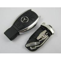 Benz 3 Button Smart Auto Key Shell, Board Plastic Car Key Blanks / Case Manufactures