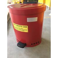 Laboratories Oily waste can, Industrial Fireproof Metal Waste Bin Manufactures