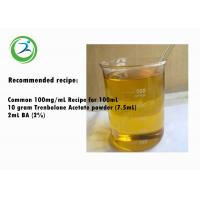 High Purity Trenbolone Ace Powder Semi finished Anabolic Steroid Trenbolone Acetate Oil For Muacle Gain Manufactures