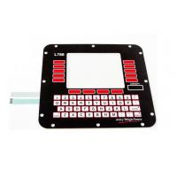 Stainless Steel Dome 3M Adhesive Membrane Switch Keyboard For Home Appliance Manufactures