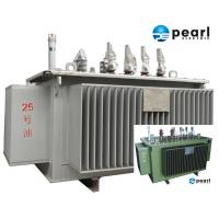 China 33 KV - 500 KVA Low Noise Power Transformer Low Loss ONAN / ONAF Cooling on sale