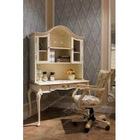 Study Desk With Shelves Computer Desk Wooden Table Make Up Dressing Organizer Antique Writ