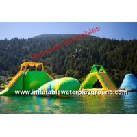 Quality Adults Lake Inflatable Floating Water Park, Aqua Fun Games With CE Certificate for sale