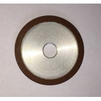 Flat Resin Bonded Diamond Grinding Wheels Grit Abrasive For Crank Shaft Magnetic Manufactures