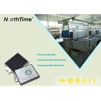 Mono 18V Solar Panel Integrated Solar Street Light With Lithium Battery Manufactures