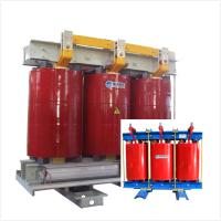 Two Winding AN Air Cooled Transformer Low Noise 6.6 KV - 1000kVA Fireproof