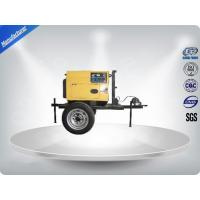 3 Cylinder 75dB large Trailer Mounted Generator 64 kw Output Power in - line Config Manufactures