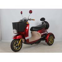 Buy cheap Aluminium Alloy Electric Mobility Scooter Three Wheels 500W For Women 175*700 from wholesalers