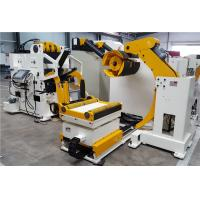 sheet metal handling equipment,decoiler straightener feeder machine with Servo motor with PLC Manufactures