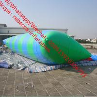 adult inflatable water park water blob water blob jump inflatable water catapult blob Manufactures