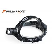 Quality High Lumen CREE T6 Adjustable Focus Outdoor LED Headlamp, Zoom Bicycle Headlight for sale