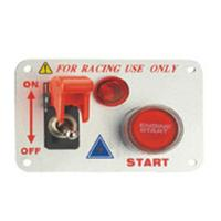 Auto Toggle Racing Switch Panel With Aluminum Alloy And Plastic Material Manufactures
